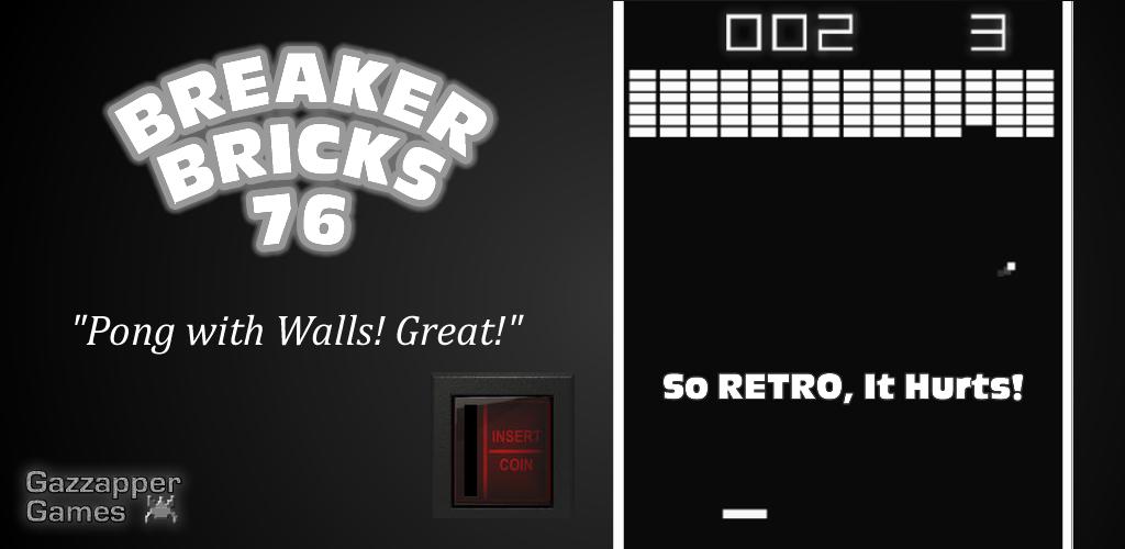 Breaker Bricks 1976 - Breakout Remake