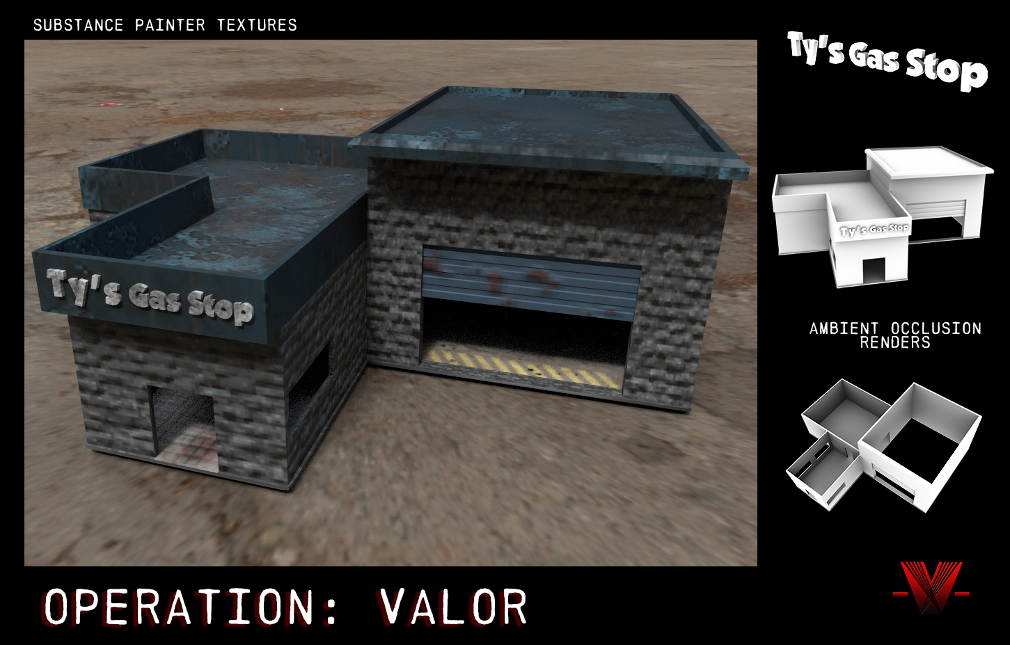 Textures & Workflow - Operation: Valor by OneDawnStudios