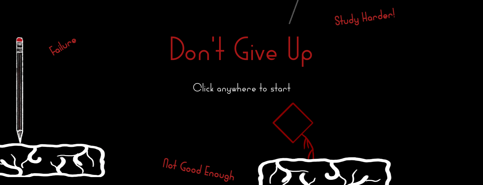 Don't Give Up [WIP]