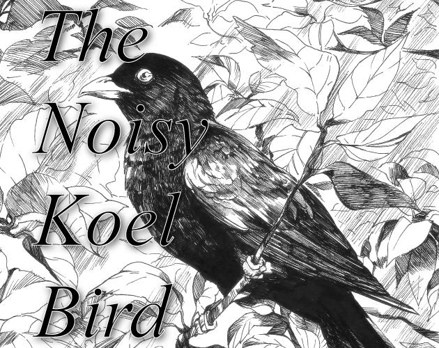 The Noisy Koel Bird