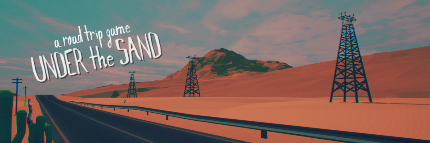 UNDER the SAND - a road trip game [DEMO]