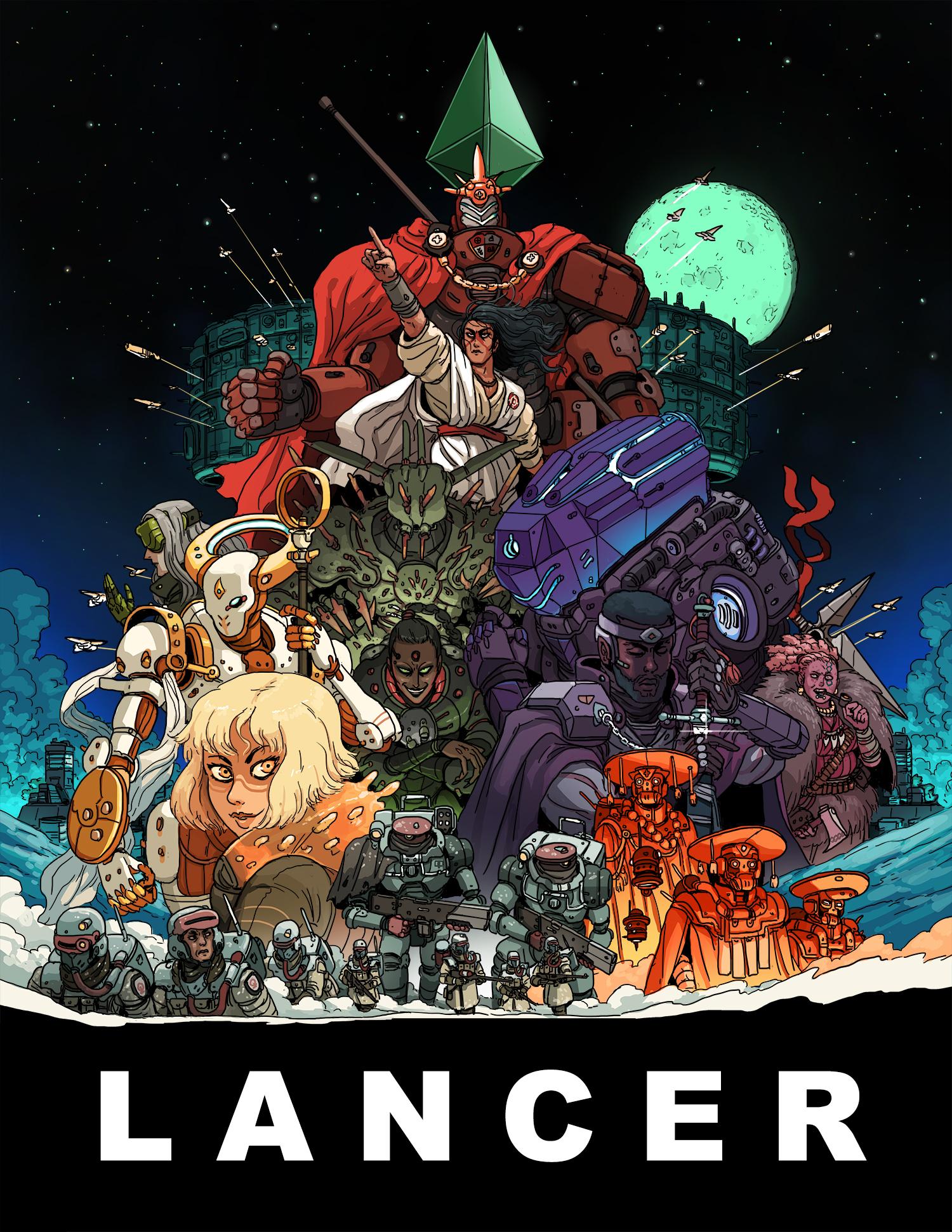 Lancer Core Book by Massif Press
