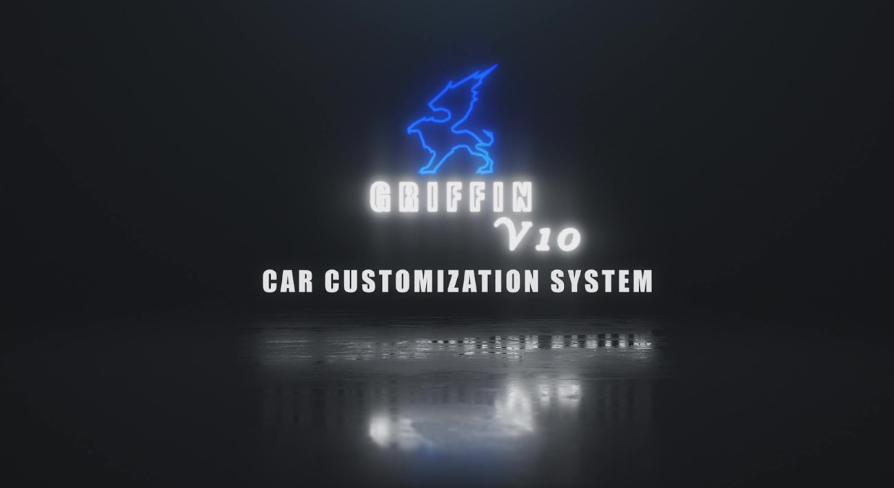 Griffin Car Customization system for UE4
