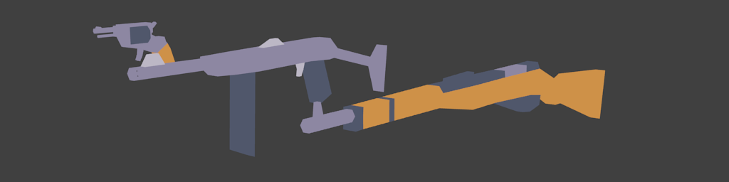 Lowpoly Simple Weapons Pack (LD44)