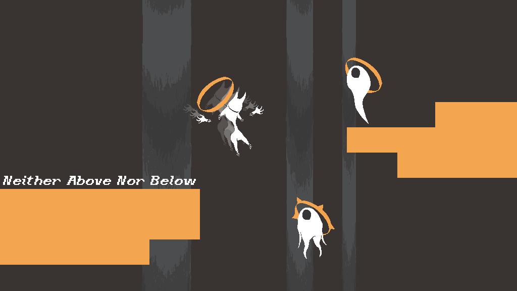 Neither Above Nor Below