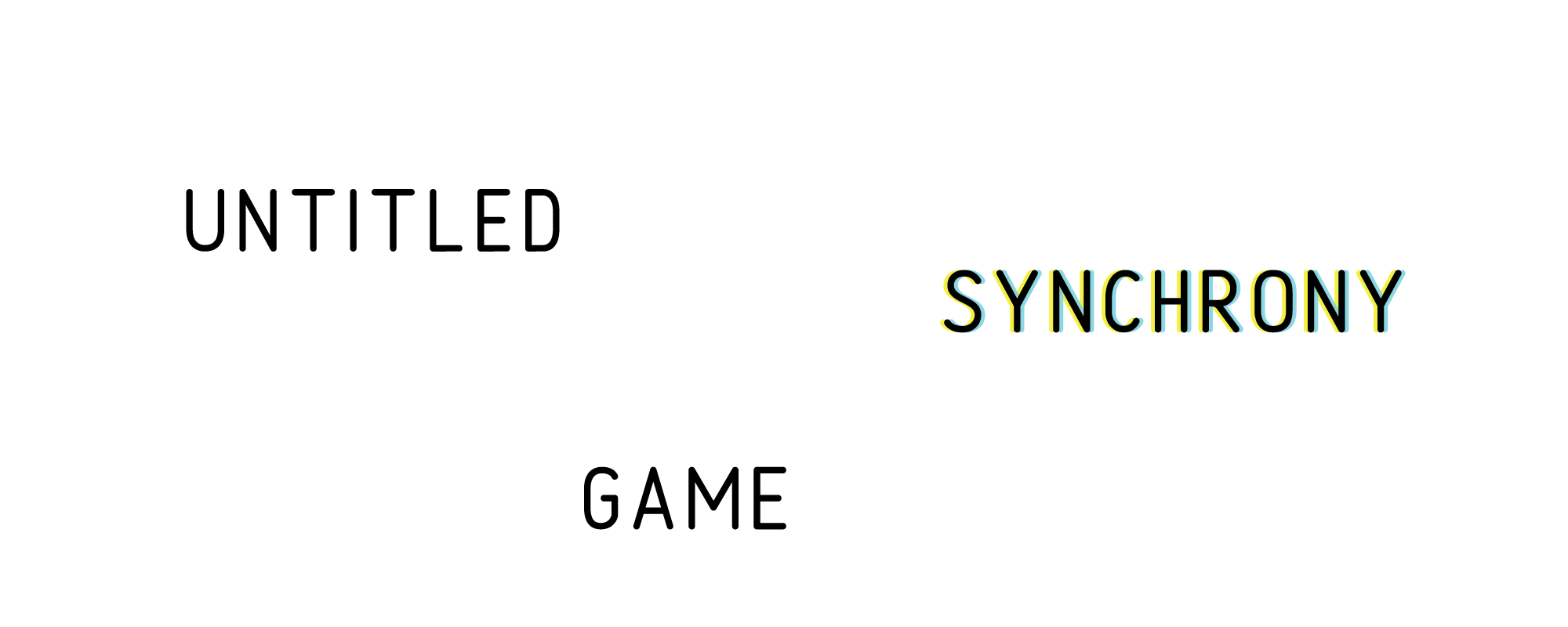untitled synchrony game