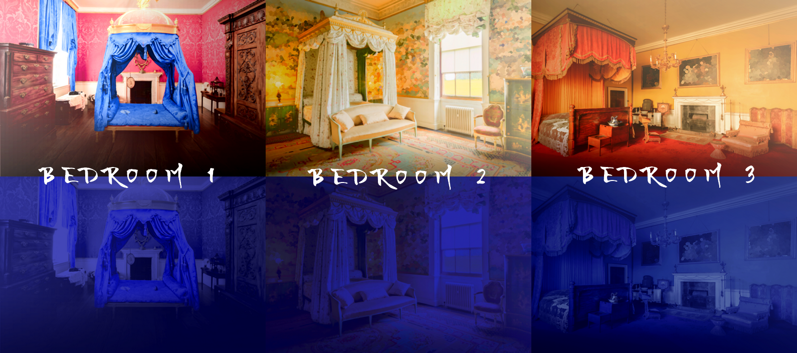Baroque Palace Pack: 22 Visual Novel Backgrounds by Rachel Chen