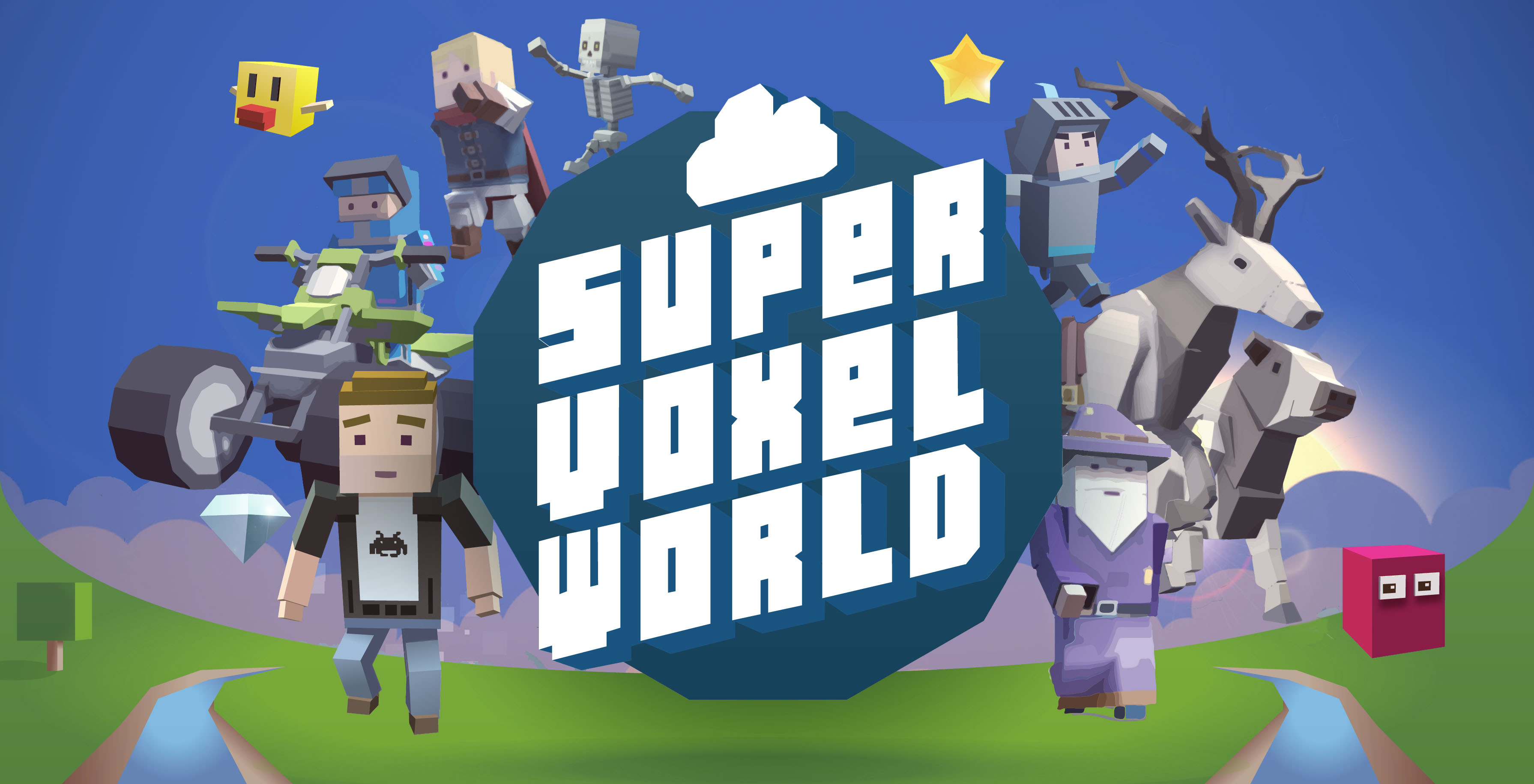 Super Voxel World