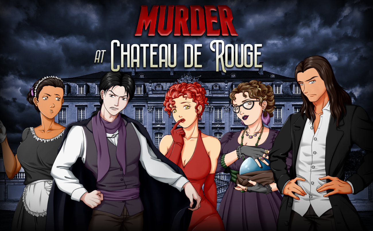 Murder at Chateau de Rouge