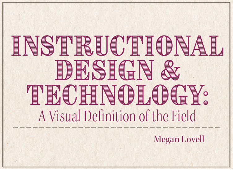 Instructional Design Technology A Visual Definition By Mlovell Idtmemphis