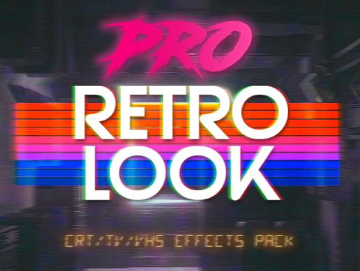 [UnityAsset] Retro Look Pro
