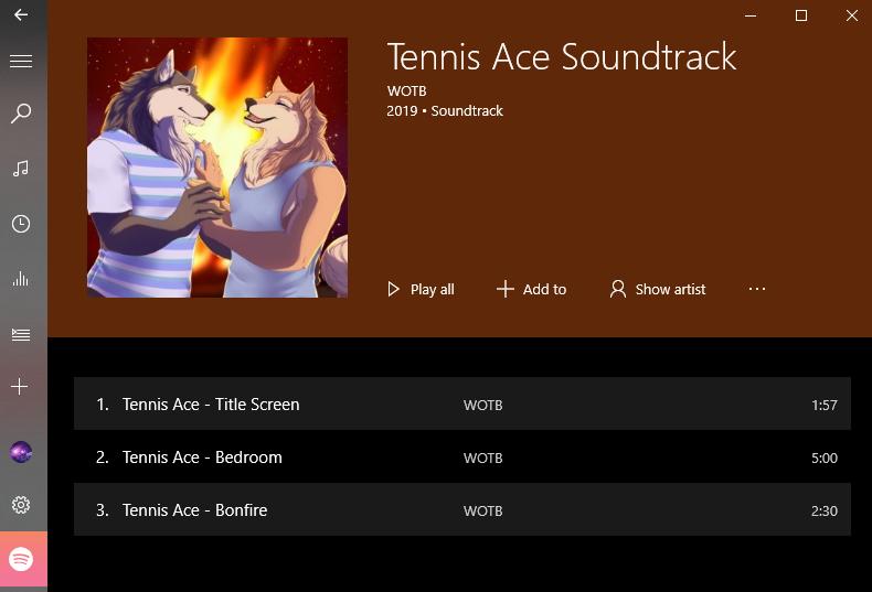 Tennis Ace by WOTB