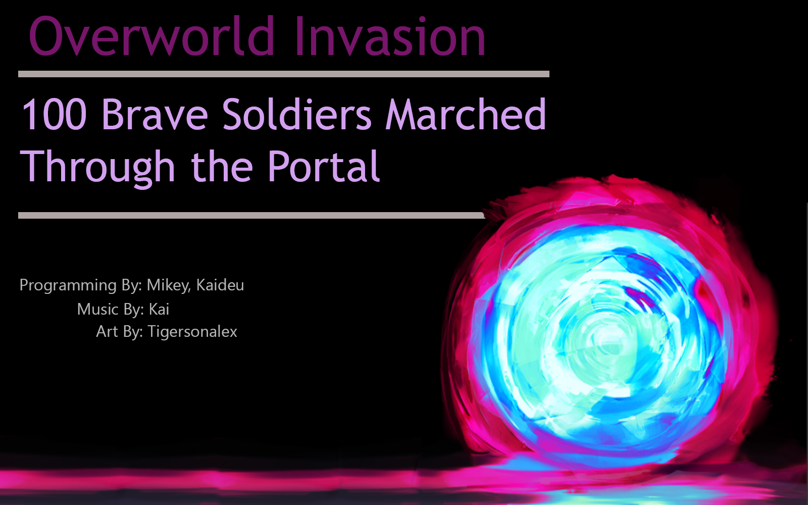 Otherworld Invasion, 100 Soldiers