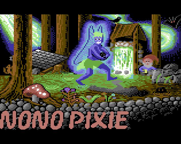Nono Pixie Title Screen