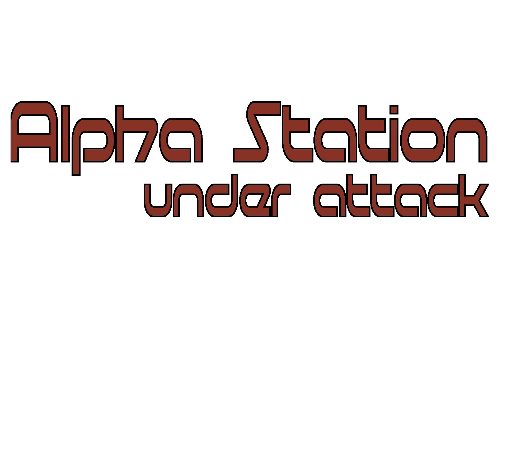 Alpha Station Under Attack