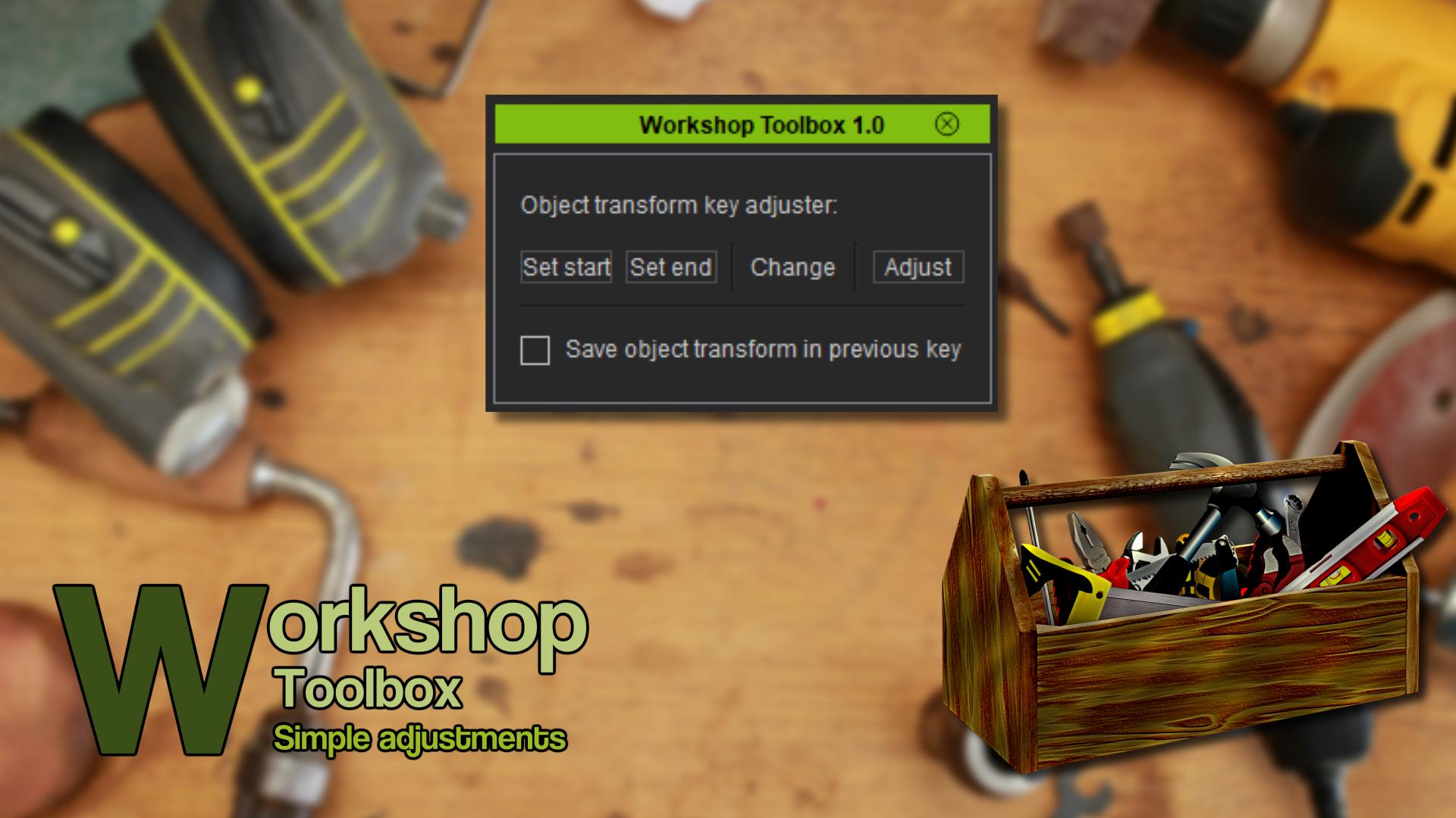 Workshop Toolbox (iClone7 Plugin)