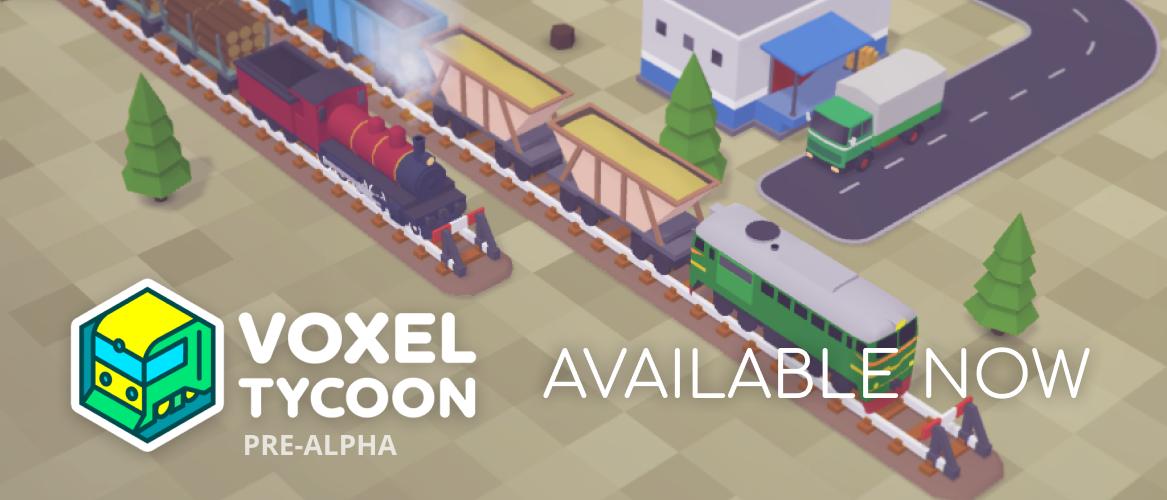 Voxel Tycoon Pre-Alpha by Voxel Tycoon Devs