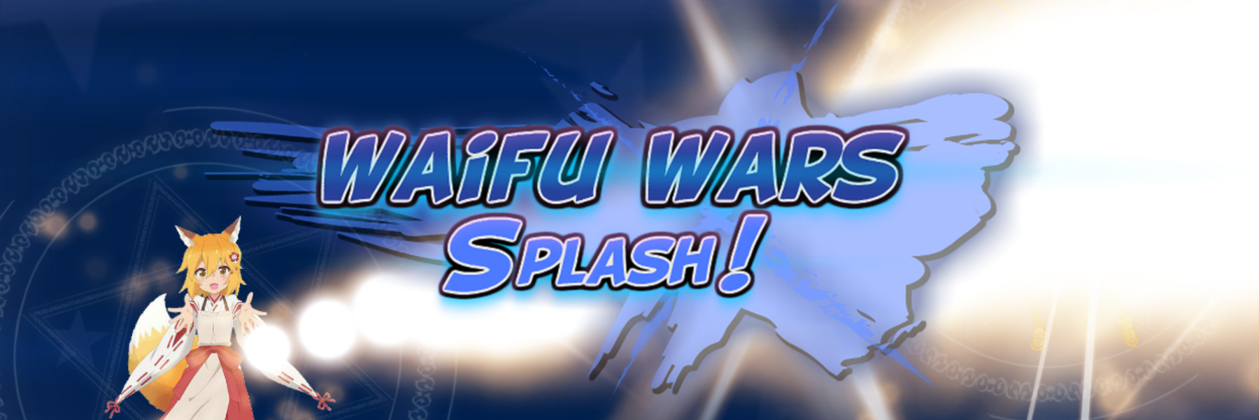 Waifu Wars Splash