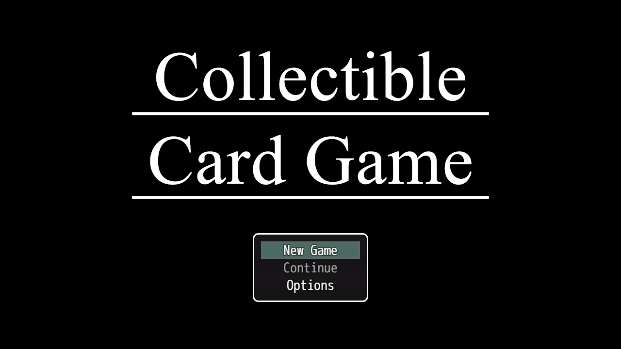 Card Game Sample Project - Collectible Card Game plugin for