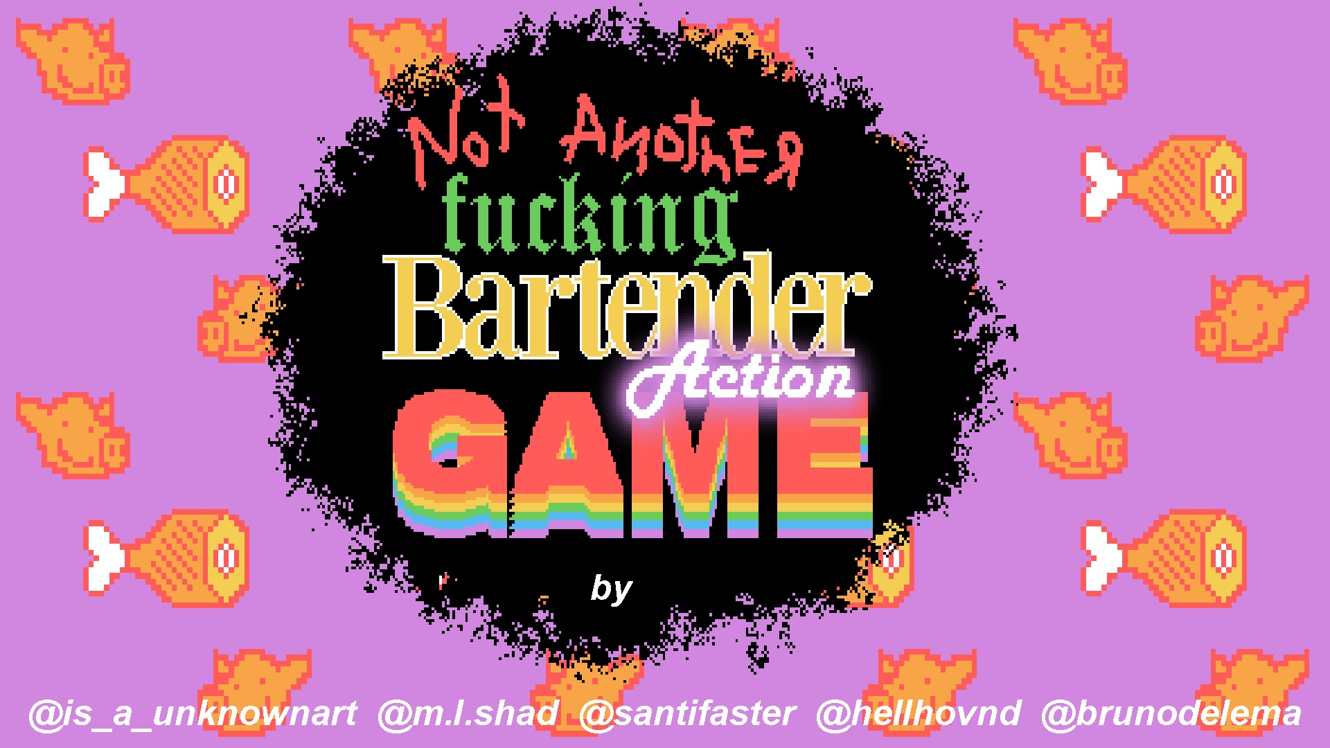 Not Another Fucking Bartender Action Game