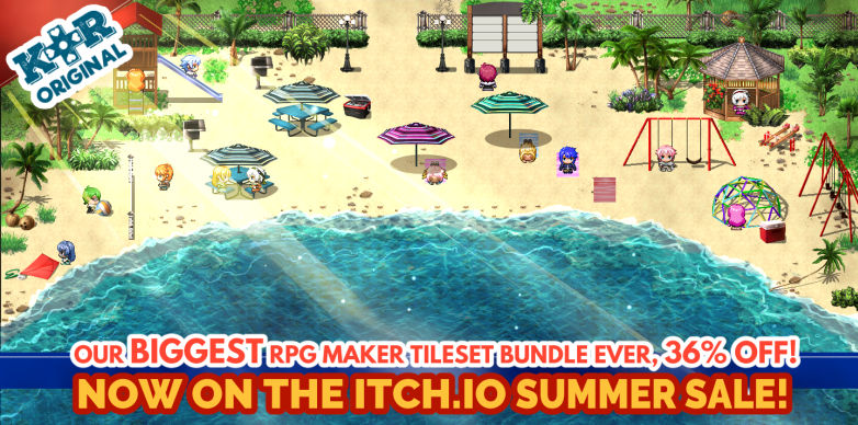 KR Super RPG Maker Summer Sale! by Kokoro Reflections - itch io