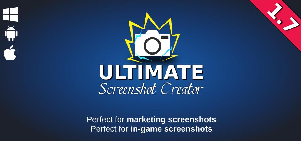 Ultimate Screenshot Creator - Unity package by WildMageGames