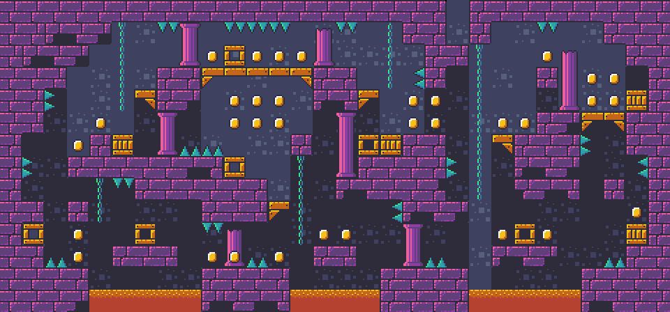 Dungeon Platformer Tilest by RottingPixels Screenshot 1