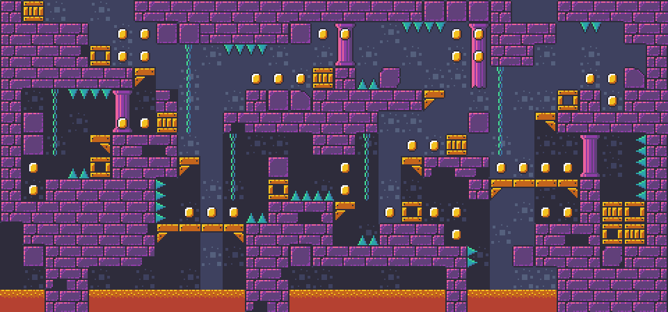 Dungeon Platformer Tilest by RottingPixels Screenshot 2