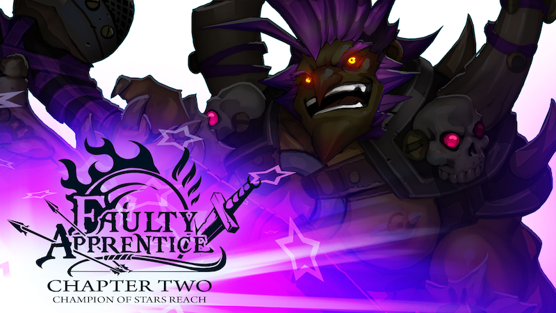 Faulty Apprentice: Chapter Two is now available to Patreon