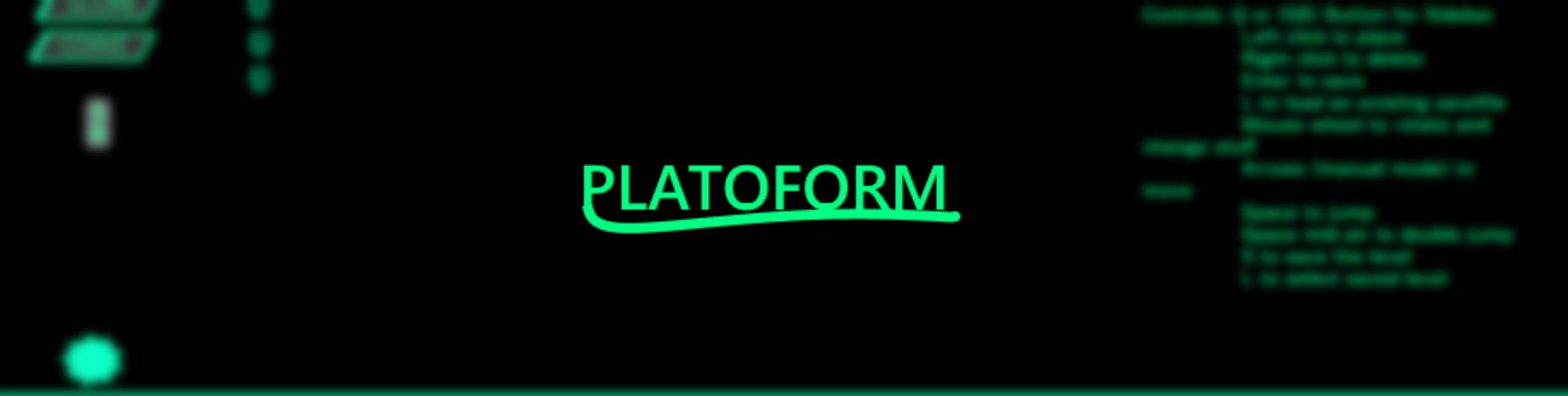 PlatoForm - Level Creator by bieftent