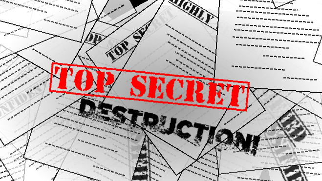 TOP SECRET DESTRUCTION