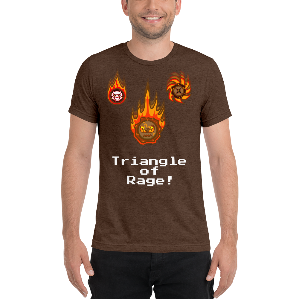 "Ryukage Run ""Triangle of Rage!"" T-shirts"