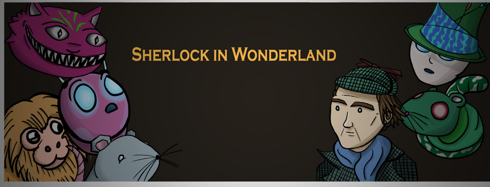 Sherlock in Wonderland
