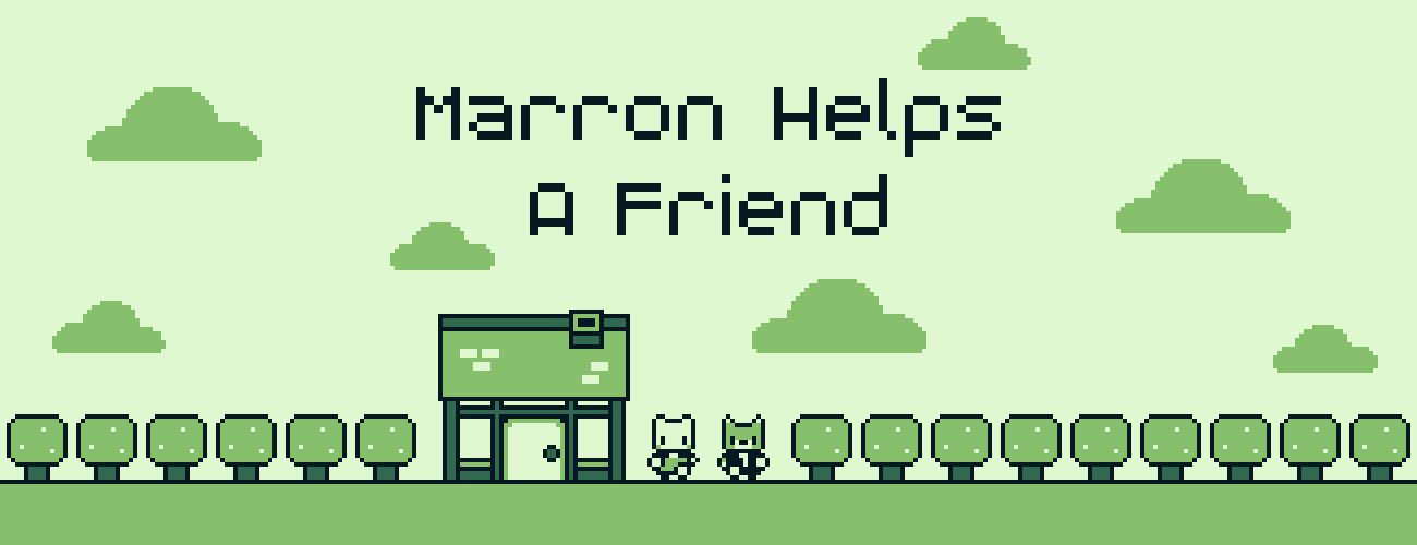 Marron Helps a Friend