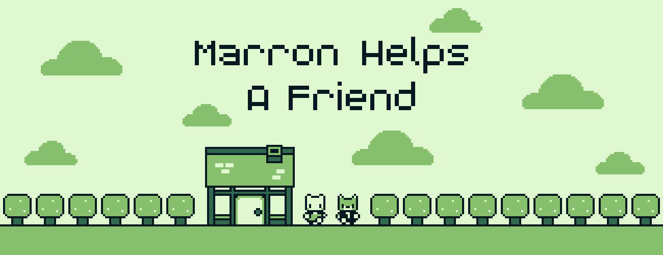 Marron Helps a Friend