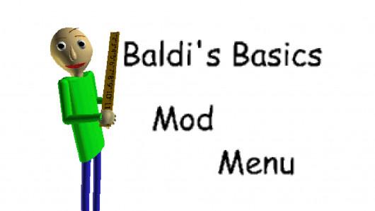 Baldi's Basics Mod Menu