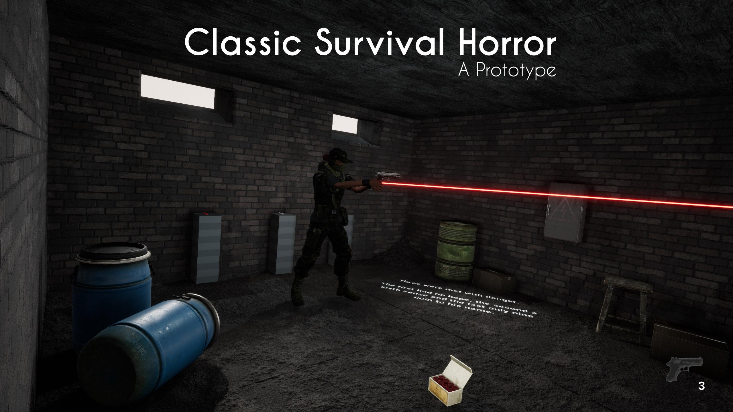 Classic Survival Horror (Prototype)