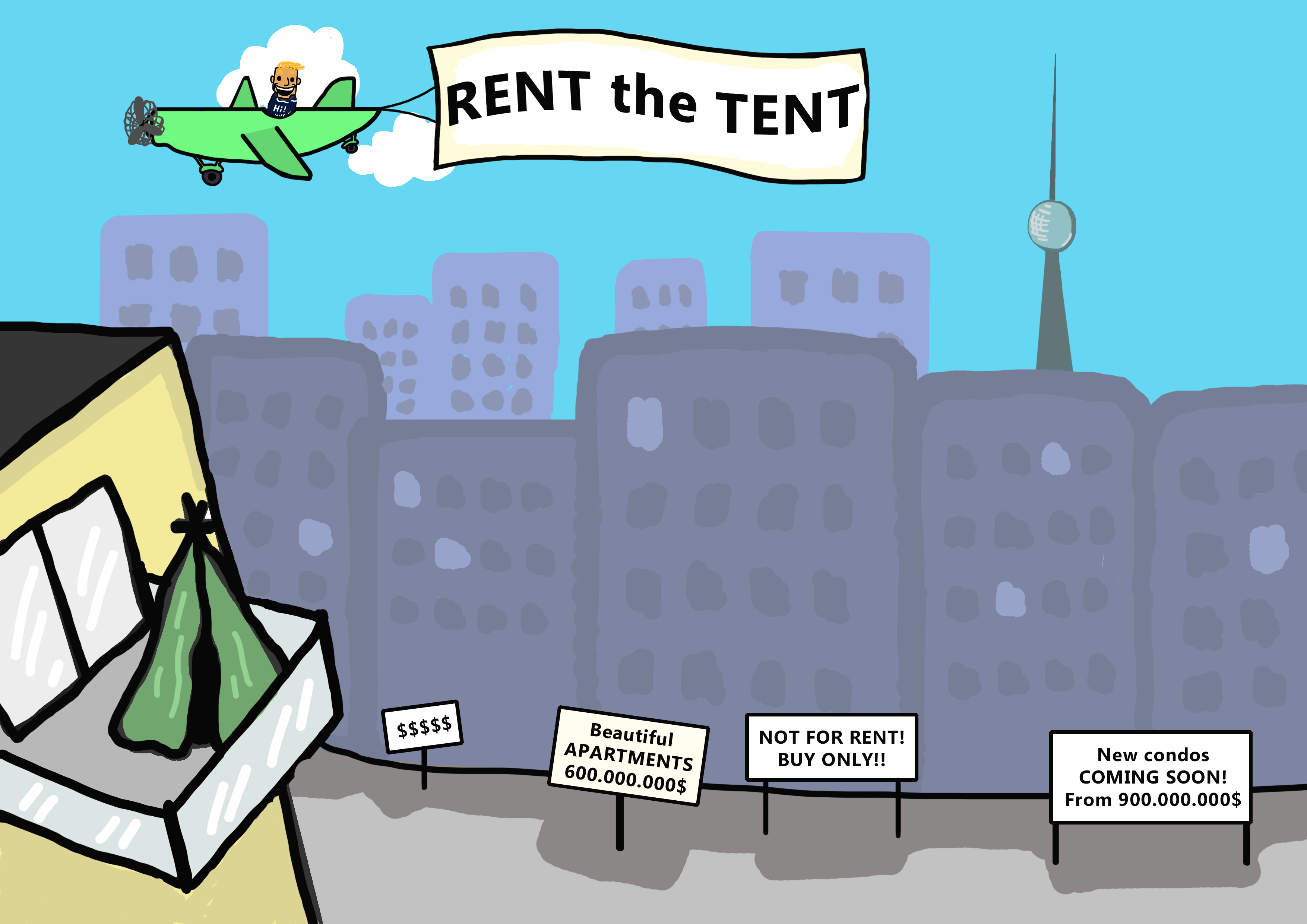 RENT the TENT