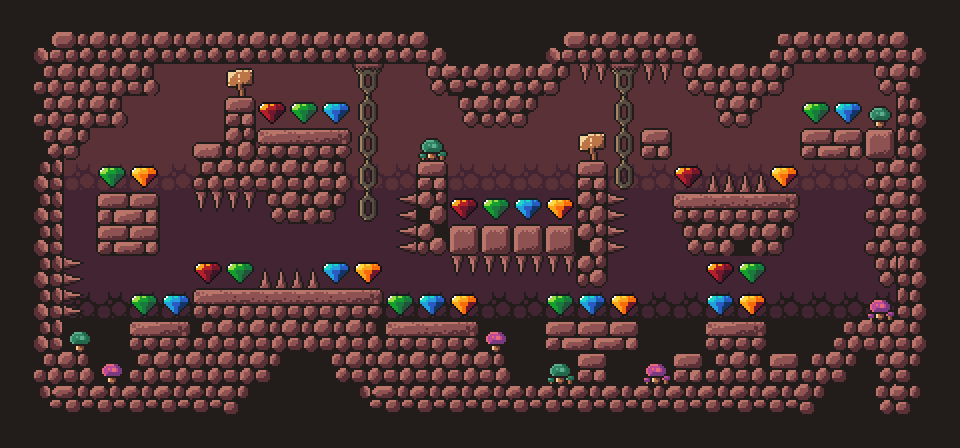 Dungeon Platformer Tilest by RottingPixels Screenshot 2
