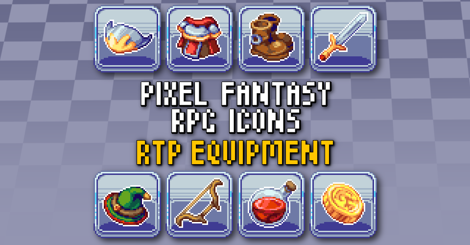 PIXEL FANTASY RPG ICONS - MV RTP Equipment