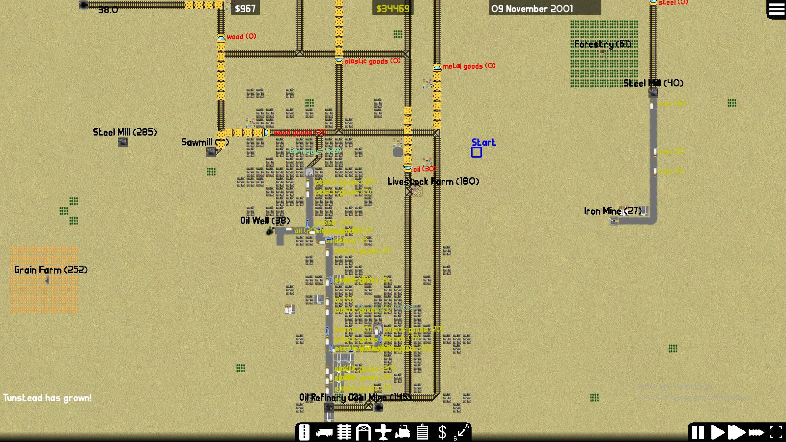 Screenshot of Desert Map