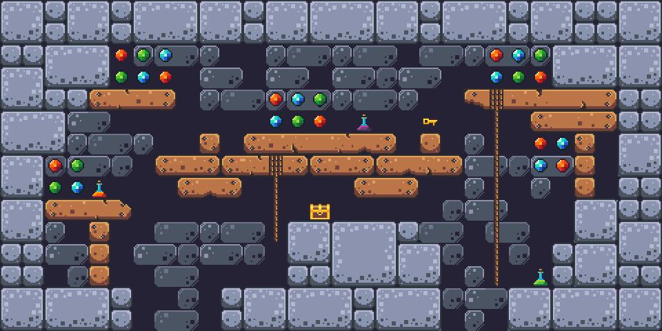 Temple Platformer Tilest by RottingPixels Screenshot 1
