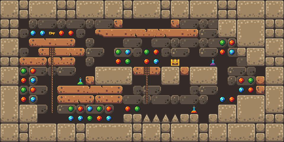 Temple Platformer Tilest by RottingPixels Screenshot 2