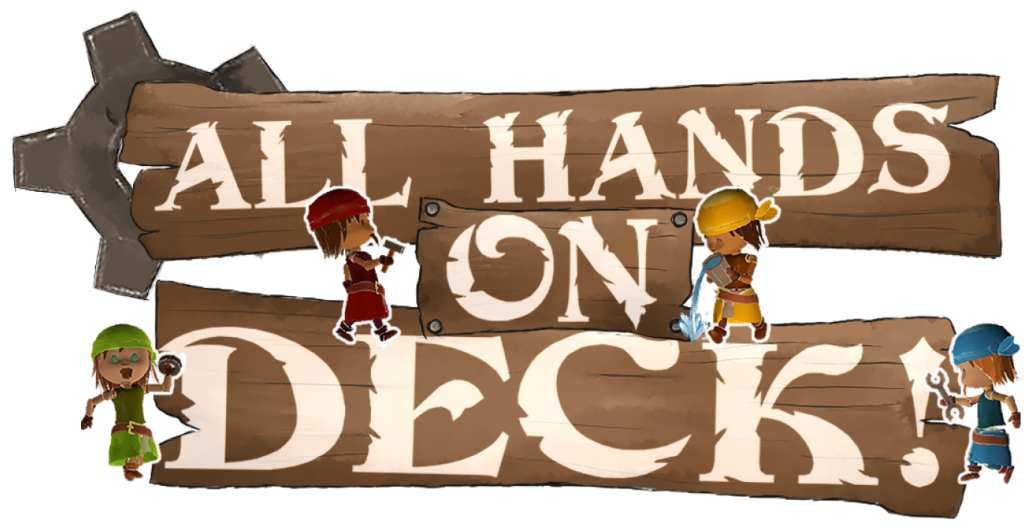 ALL HANDS ON DECK - Logo