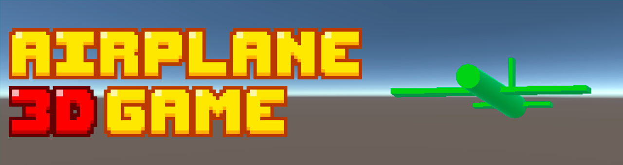 Airplane 3D Game