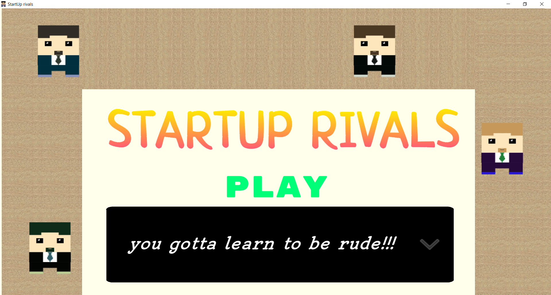 StartUp Rivals