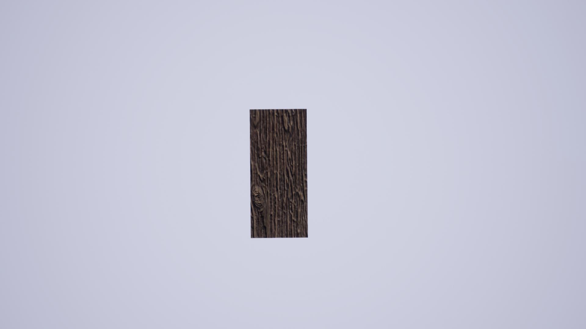 weak wooden block