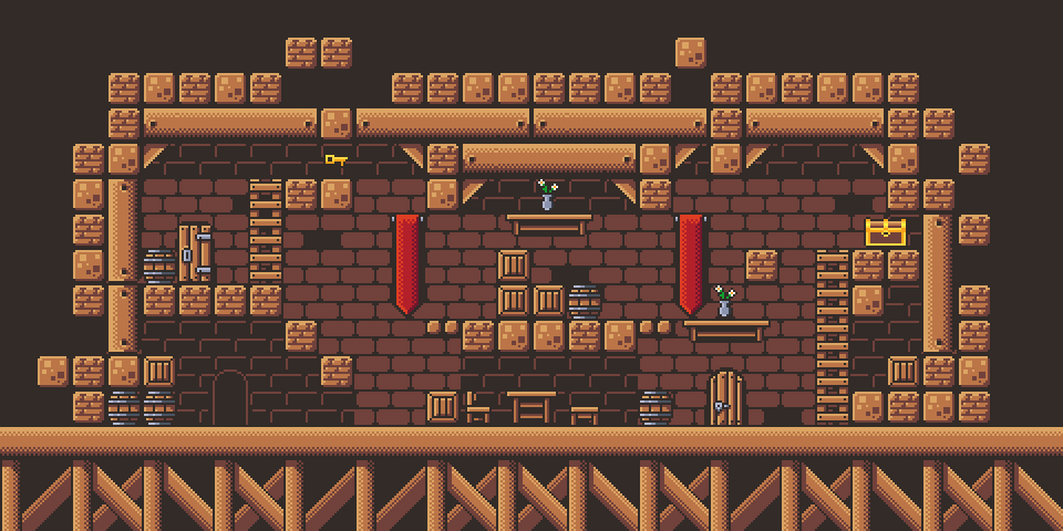 Castle Platformer Tilest by RottingPixels Screenshot 1