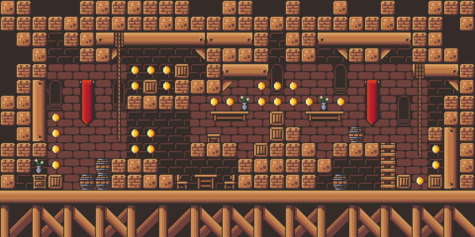 Castle Platformer Tilest by RottingPixels Screenshot 2