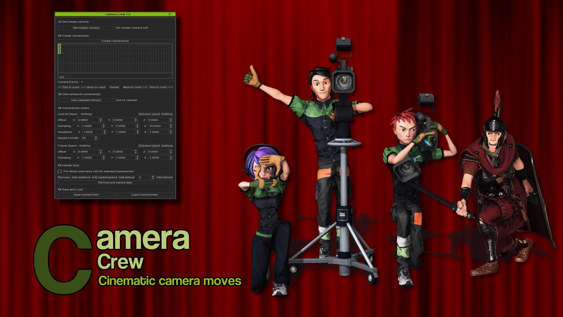 Camera Crew (iClone7 Plugin)